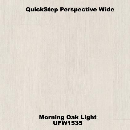 QuickStep Perspective Wide Morning Oak Light UFW1535 JJP Flooring Company Bicester