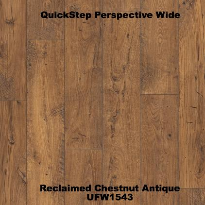 Reclaimed Chestnut Antique UFW1543 Quickstep perspective wide JJP Flooring Bicester
