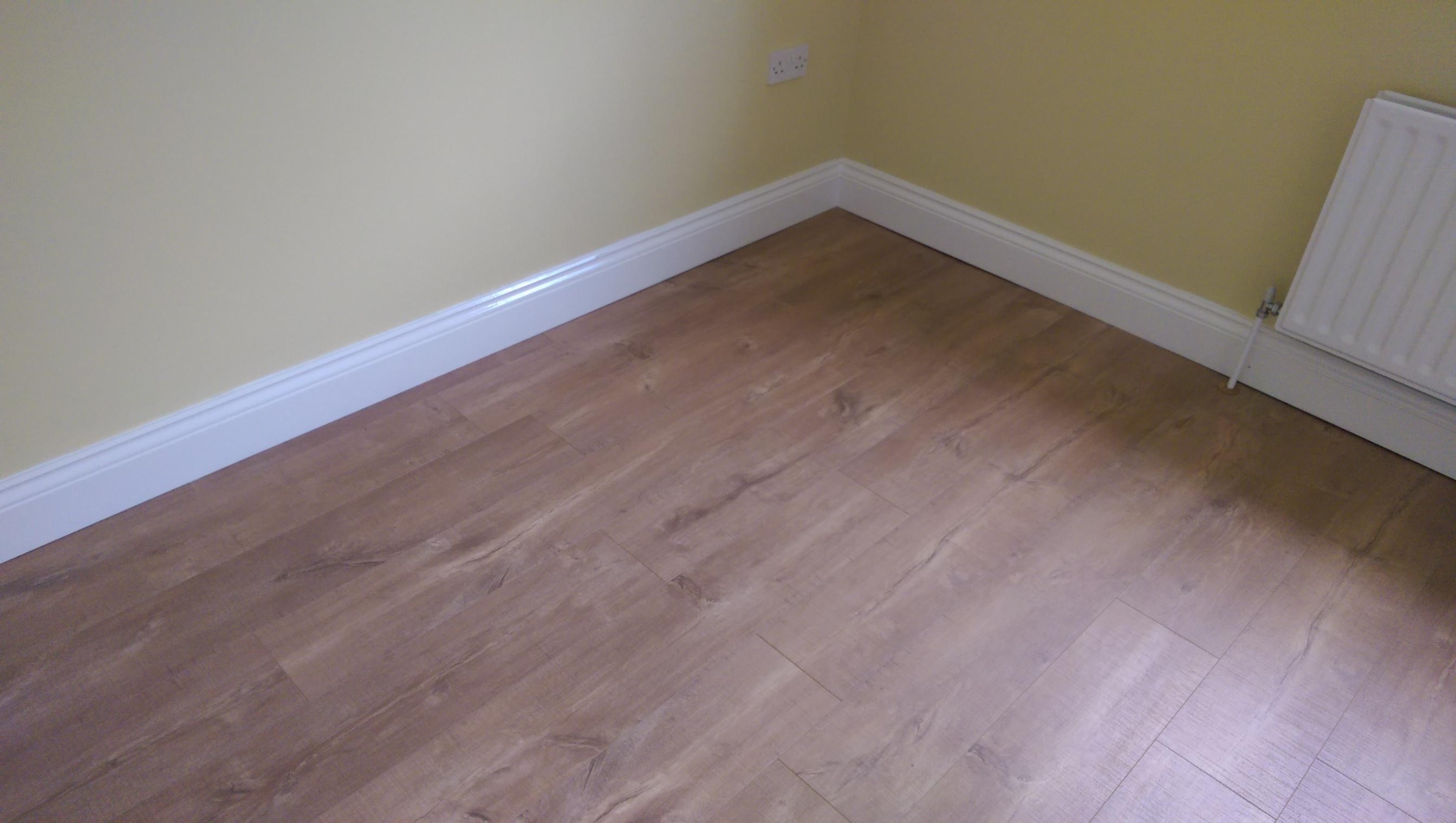 Skirting board laminate flooring laplounge for Wood skirting